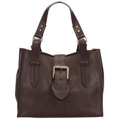 Mulberry Brown Leather Handbag