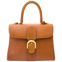 Delvaux Brillant MM Fauve
