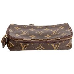 Louis Vuitton Jewelry Case with Zip and Padlock