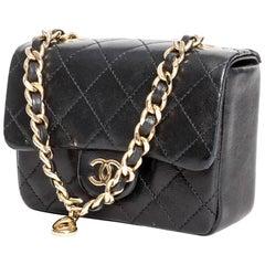 Chanel Vintage Micro Mini Classic Bag Charm