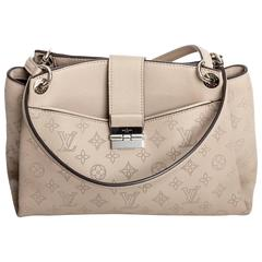 Louis Vuitton Mahina Leather Double Handle Tote