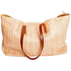 Henry Cuir Woven Leather Tote