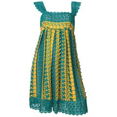 Tracy Feith Lace Cotton Dress Size 4.