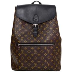 Louis Vuitton Monogram Macassar Palk Backpack Bag