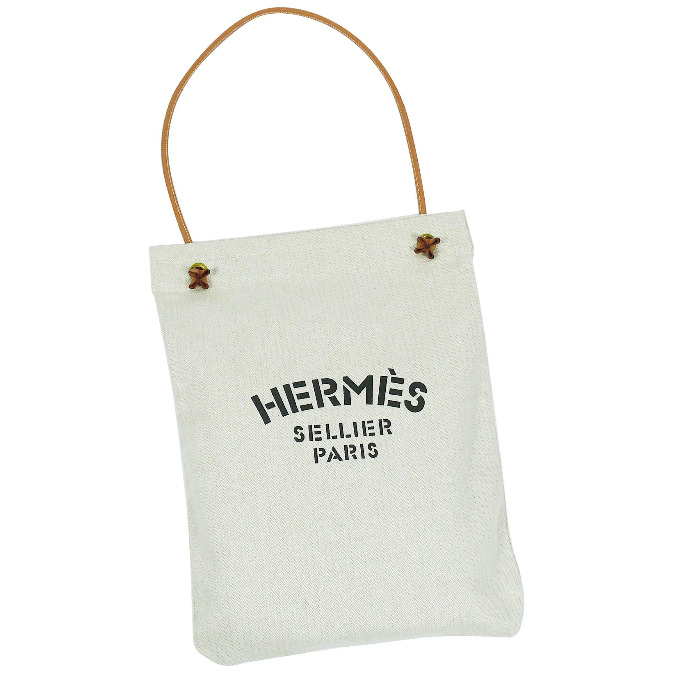 cbd9a76d5f6f 12345 aa731 7f242  store hermes vintage aline xl canvas tote bag for sale  39629 19b33