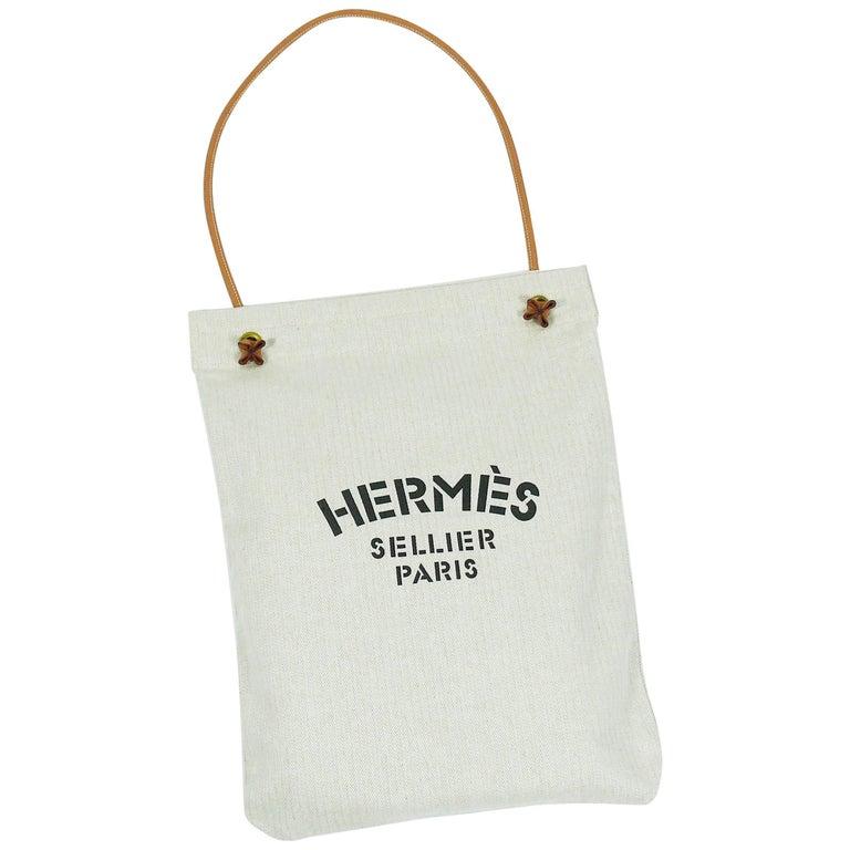 Hermes Vintage Aline Xl Canvas Tote Bag At 1stdibs