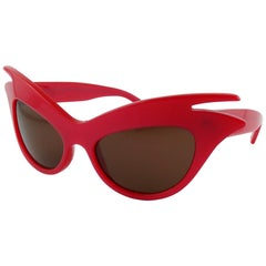 Christian Dior Miss Dior Cherie Limited Edition Raspberry Red Sunglasses
