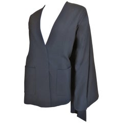 Martin Margiela Caped Back Blazer