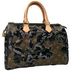 Louis Vuitton Limited Edition Fleur De Jais 35 Speedy Handbag