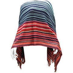 New Missoni Poncho Style Top - 100% Cotton