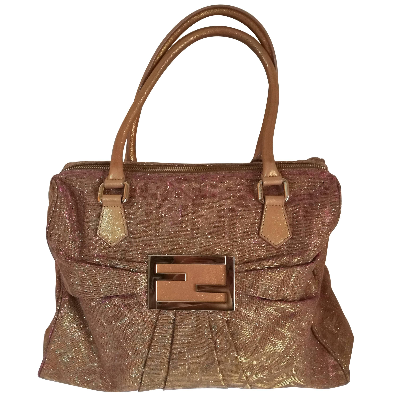 Fendi Glitter Pink Limited Edition Bag TuuHh