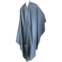 Chado Ralph Rucci Giant Pure Cashmere Wrap with Pocket