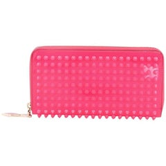 Christian Louboutin Panettone Wallet Spiked Patent