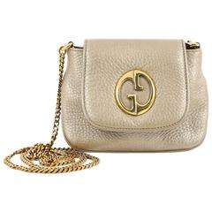 Gucci 1973 Crossbody Bag Leather Small
