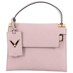 Valentino My Rockstud Convertible Satchel Leather Small