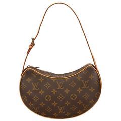 Louis Vuitton Brown Monogram Croissant MM