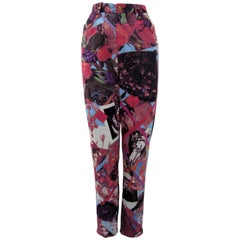 Christian Lacroix Bazar Photo Print Novelty Pants