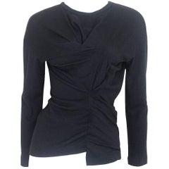 Tricot Comme des Garcons 1990 Asymmetrical Fine Wool Sweater