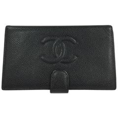 Chanel Timeless CC French Wallet Caviar Long