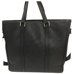 Louis Vuitton Tadao Handbag Damier Infini Leather PM