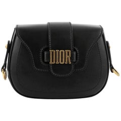 Christian Dior D-Fence Saddle Bag Leather Small
