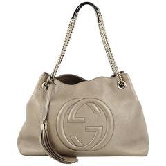 Gucci Soho Shoulder Bag Chain Strap Leather Medium