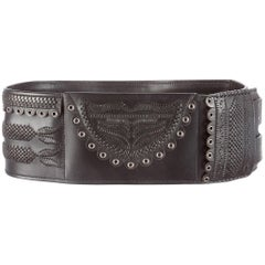 Tom Ford Yves Saint Laurent Fall 2001 Leather Belt