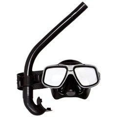 Tom Ford for Gucci S/S 1999 Black Resin Snorkel and Mask Set