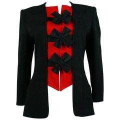 Christian Lacroix Vintage Quilts Bow Jacket