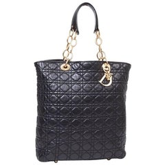 DIOR 'Miss DIOR' Black Quilted Leather Bag