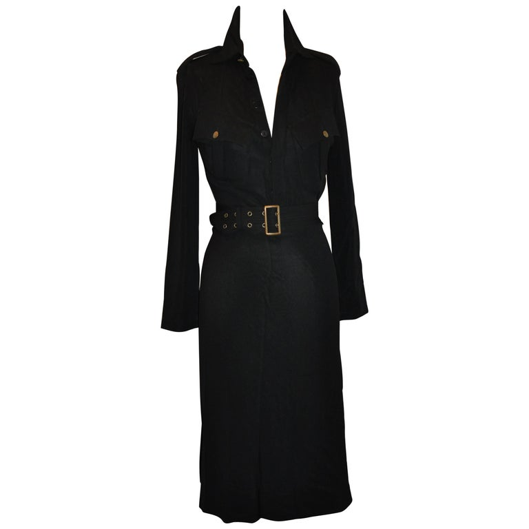 "Jean Paul Gaultier Versatile Body-Hugging ""Little Black Dress"""