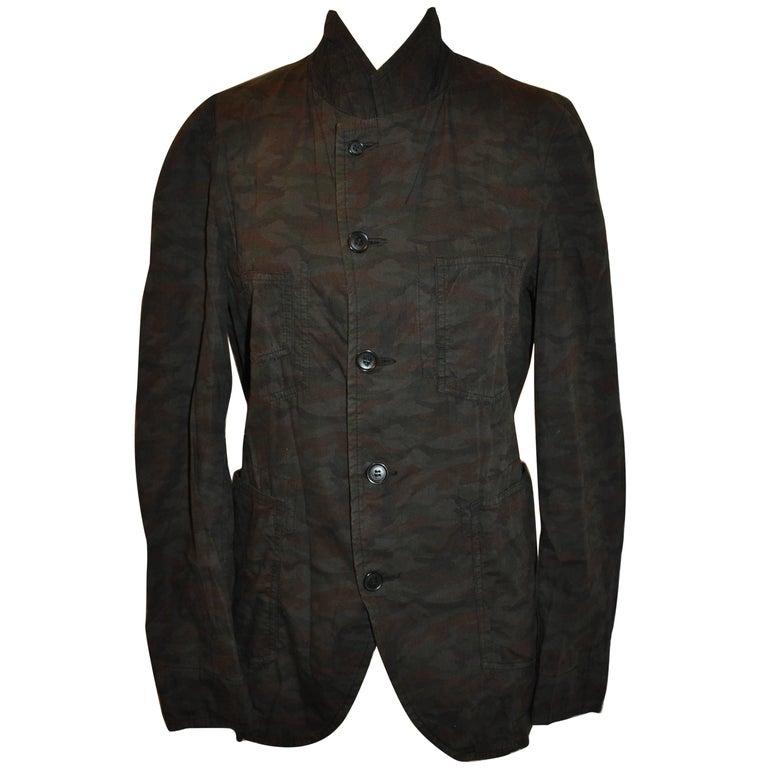 Comme des Garcons Camouflage Multi-Patch Pocket Button Jacket