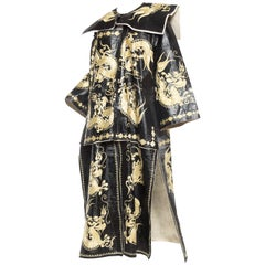 Kimono Style Embroidered Chinese Dragon Coat