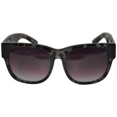 Matthew Williamson & Linda Farrow Clear Olive Tortoise Shell Sunglasses