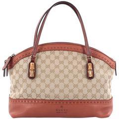 Gucci Laidback Crafty Handle Bag GG Canvas Medium