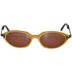 62f7c364b48 ... Gaultier Golden Lucite with Black Lucite Interior Sunglasses For Sale  NaN Jean Paul Gaultier Sunglasses Vintage 1990s 2-Tone Rare 56-0174  Original Case ...