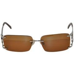 "Tiffany & Co ""Pin Wheel"" Rhinestone Accent Glasses"