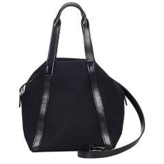 Gucci Black Nylon Handbag