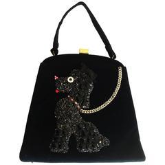 Rare Poodle Purse Handbag made by Soure New York