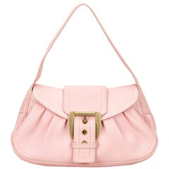 Celine Pink Leather Handbag