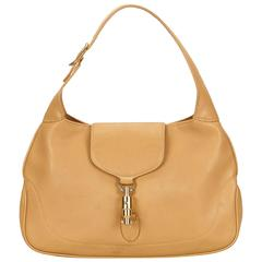 Gucci Brown Leather Jackie