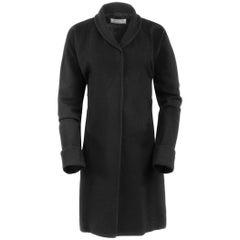 Maison Martin Margiela Line 1 Black Wool Overcoat