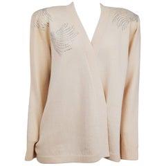 80s St. John Rhinestone Sweater