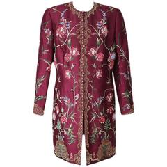 Balmain Couture Jacket with Beading and Embroidery circa 1960s