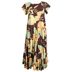1970's BIBA cotton floral dress