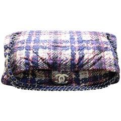 Chanel Multi Colour Nylon Shoulder Bag