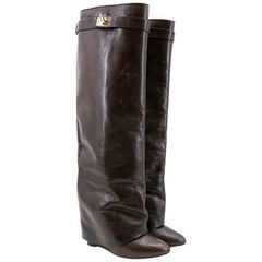 Givenchy Brown Pant Boots