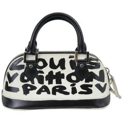 Louis Vuitton mini Alma Grafitti Bag by Stephen Sprouse & Marc Jacobs