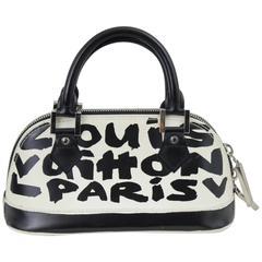 Louis Vuitton mini Alma Grafitti Bag by Stephen Sprousse & Marc Jacobs