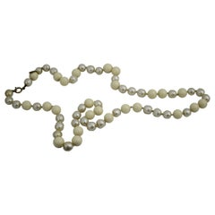 Vintage 1985 Chanel Fake Pearls 37 inches Necklace